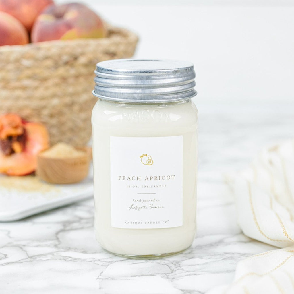 Peach Apricot 16 oz. Candle