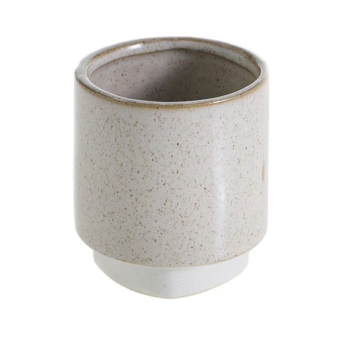Croix Pot in Cream - Small