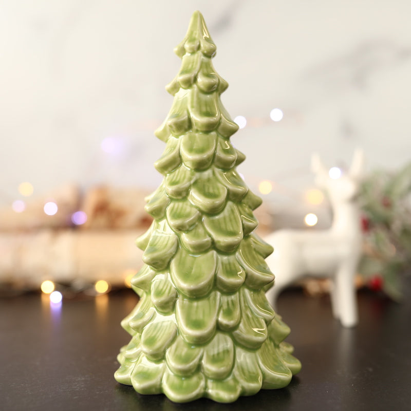 Ceramic Green Tree - 2 Colors