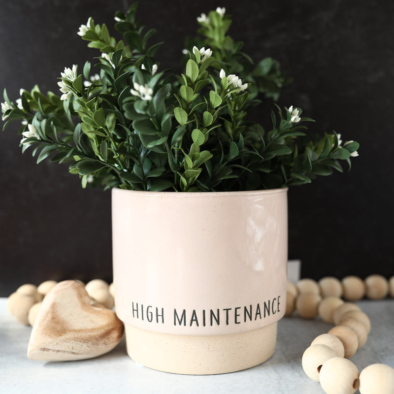 High Maintenance Pot