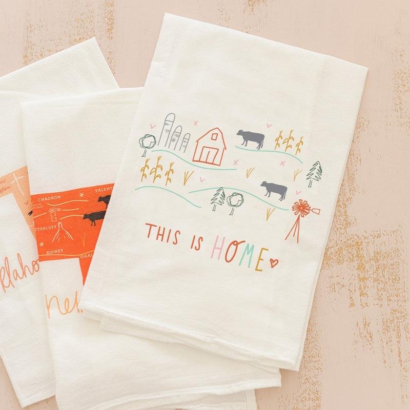Flour Sack Towel - This is Home
