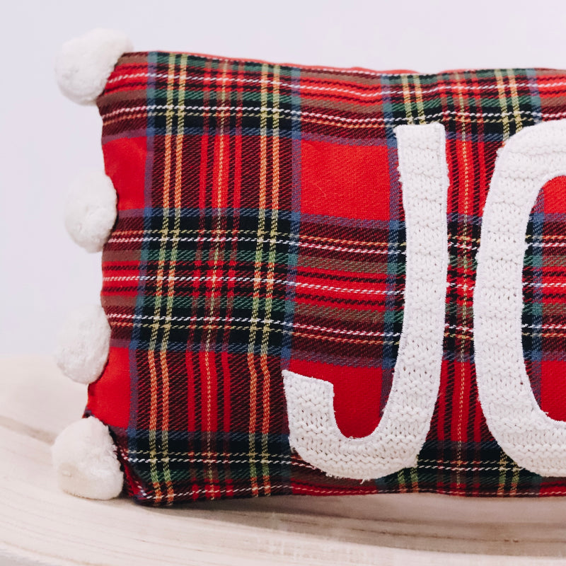 Joy Pom Pom Pillow