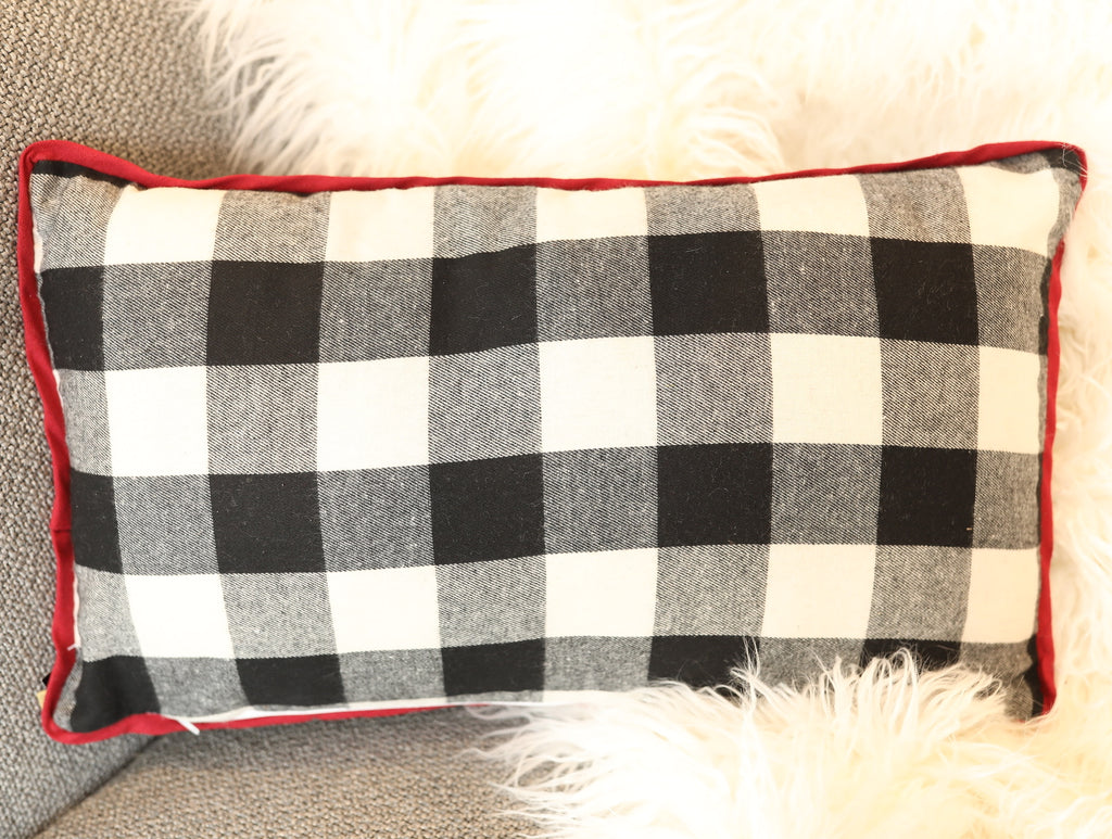 Buffalo Check Pillow - 20""