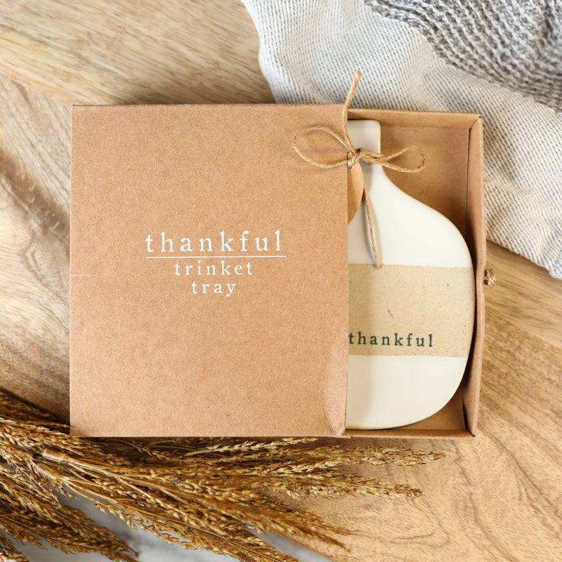 Thankful Trinket Tray