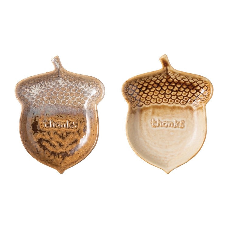 Acorn Dishes - 2 Styles