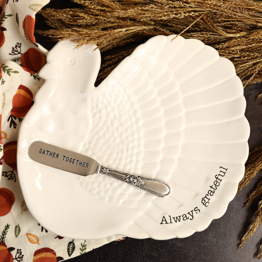 Serving Platter - Always Grateful