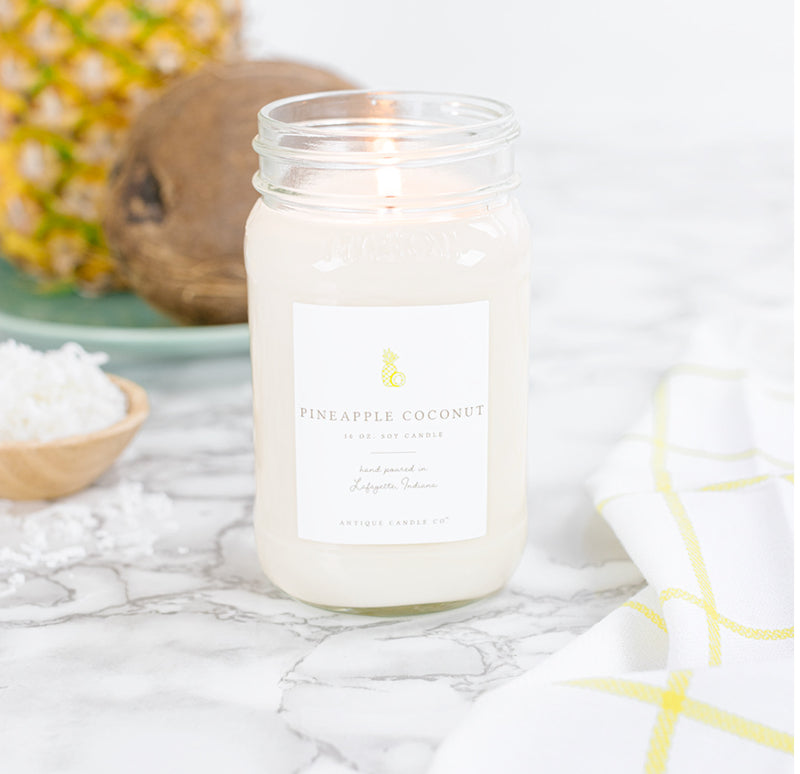Pineapple Coconut 16 oz. Candle