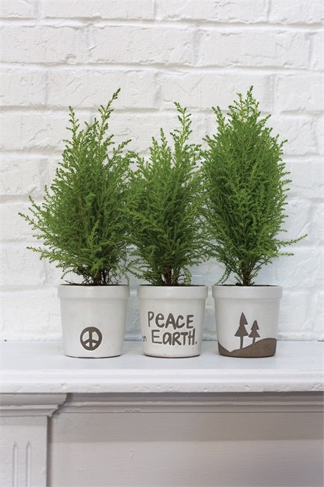 Peace On Earth Pot