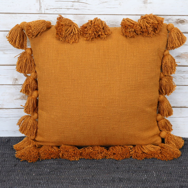 Pumpkin Tassel Pillow