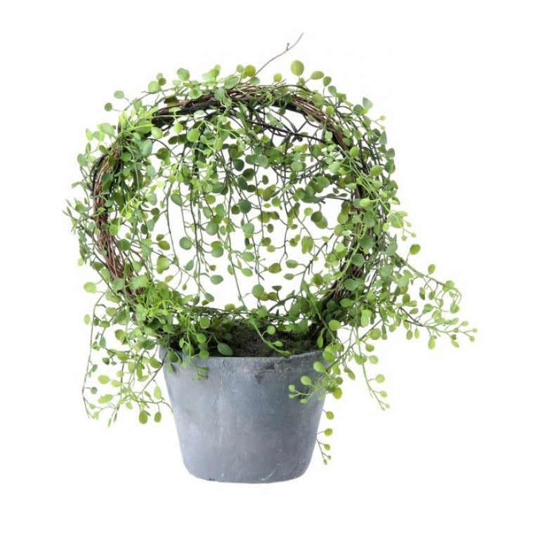 Potted Tear Wreath