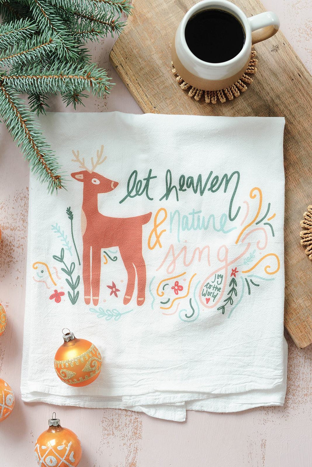 Heaven and Nature Sing Towel