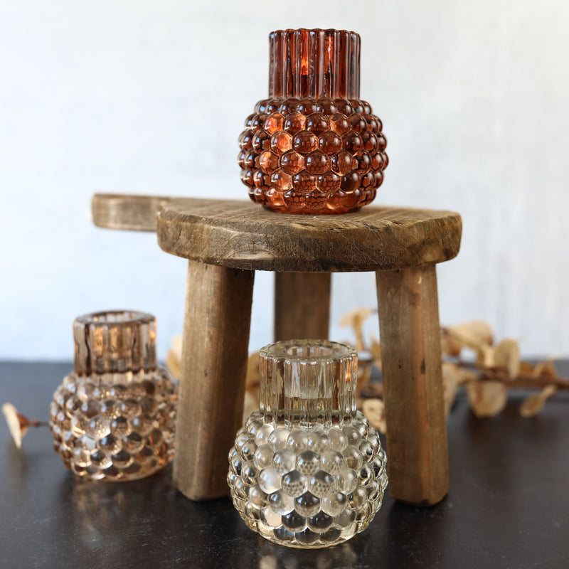 Hobnail Candle Holder