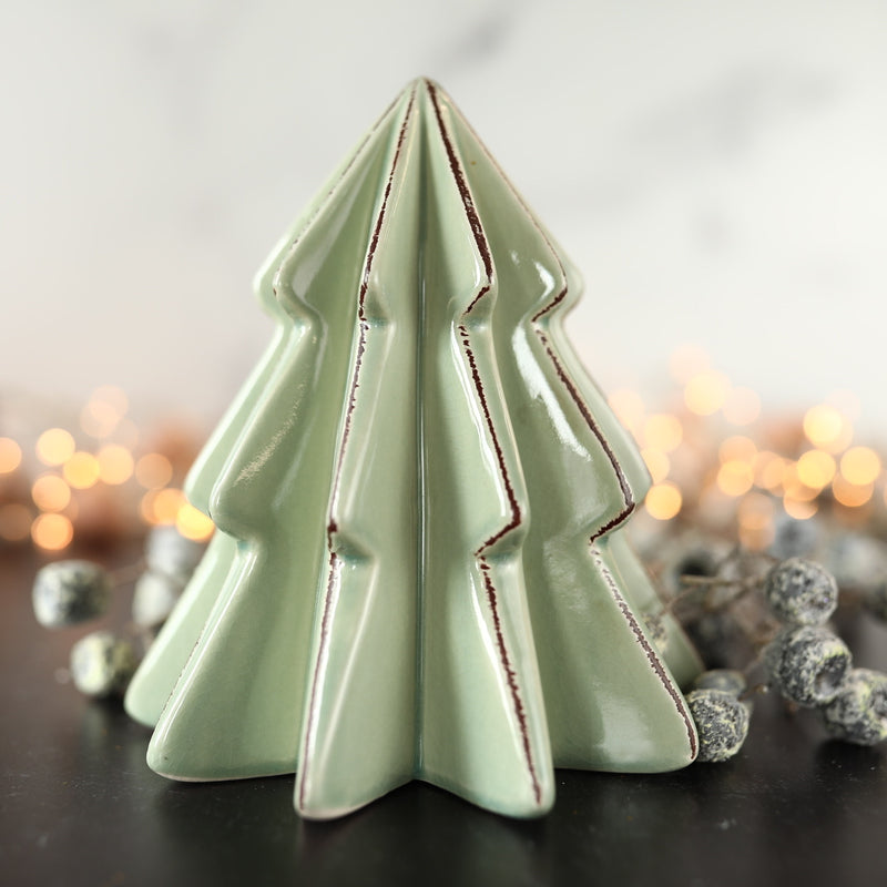 Mint Ceramic Tree - Large