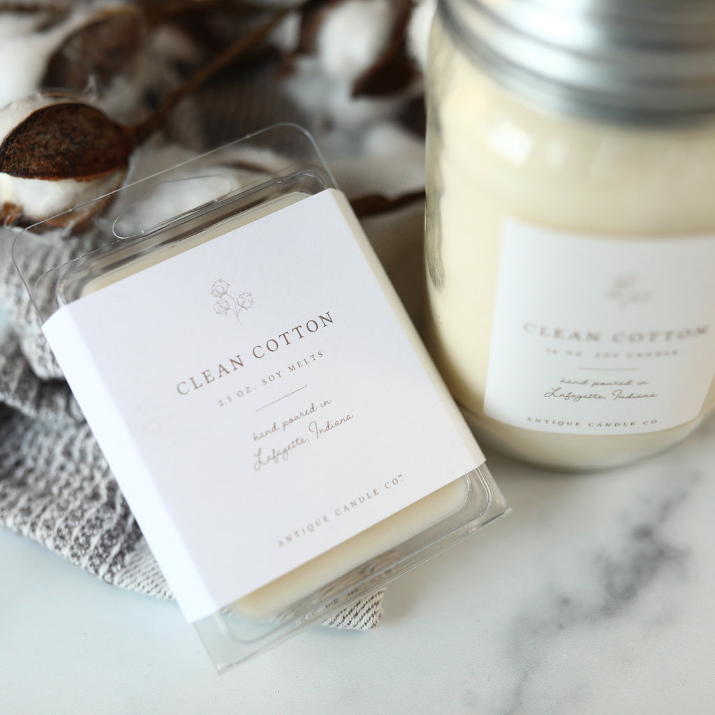 Clean Cotton - 16 oz Candle