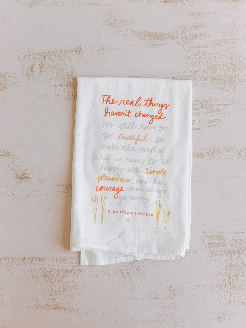 Flour Sack Towel - The Real Things