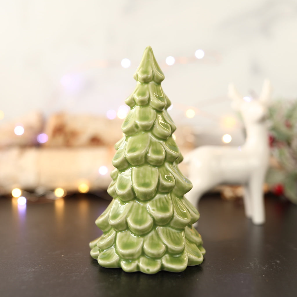 Ceramic Green Tree - Small - 2 Colors