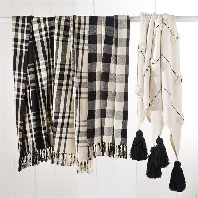 Plaid Blankets - 3 Styles