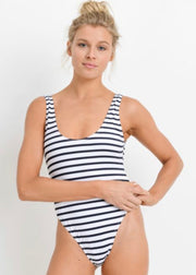 Ship Ahoy Striped One-Piece Swimsuit
