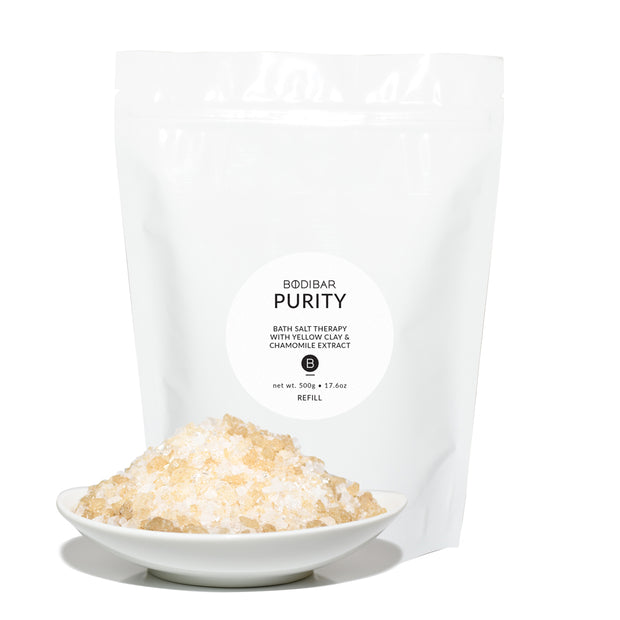 bodibar Purity bath salt therapy refill pack 500g