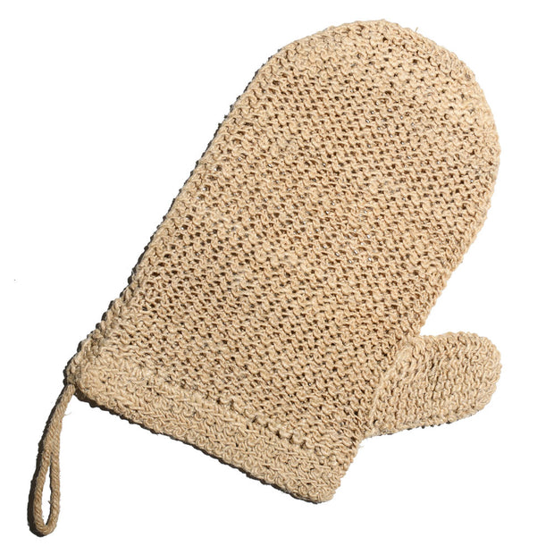 heavenly bath mitt made from hemp fibre 100% natural vegetable fibres