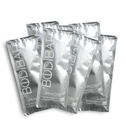 bodibar detoxifying body scrub and mud mask spa treatment 8 pack sachets