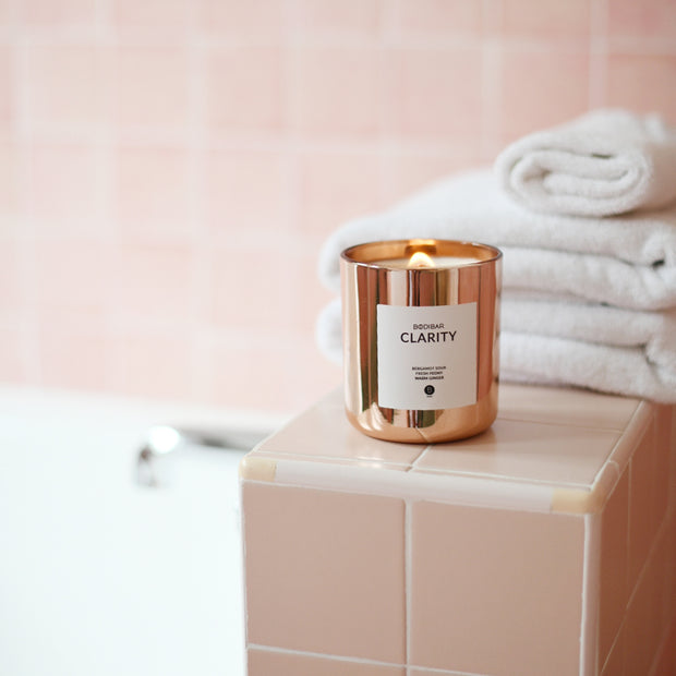 Rose Gold Metallic Luxe Candle