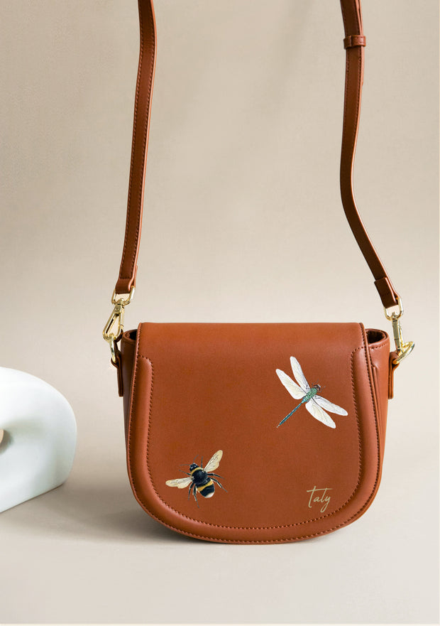 Dragonfly and Bee Brown Bag 1