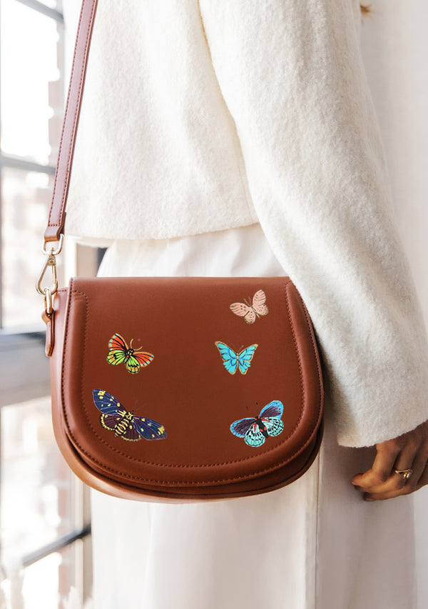 Butterflies Brown Bag