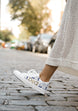 Moroccan Ornate White Sneaker 1