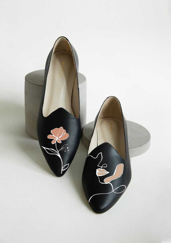 Goddess Black Loafer