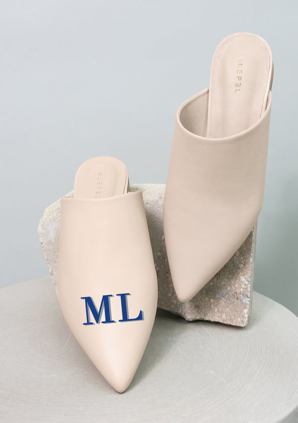 Monogram Beige Pointe