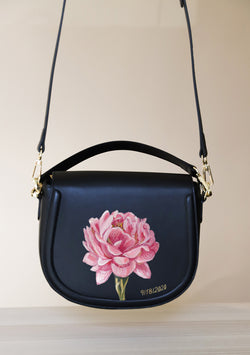 Bridal Bouquet Black Bag