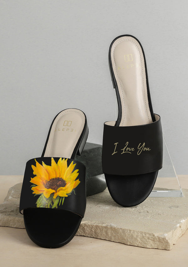 Bridal Bouquet Black Slide