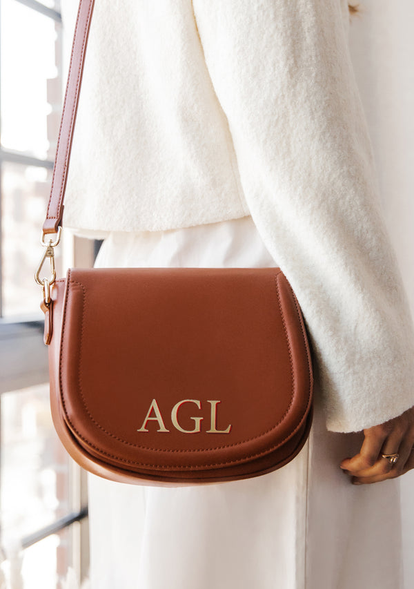 Monogram Brown Bag