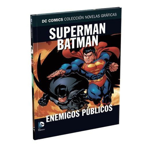 Salida 5 - Superman/Batman: Enemigos Públicos- La Coleccion Novelas Graficas DC Comics