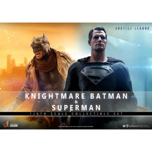Knightmare Batman and Superman Sixth Scale Figure Set by Hot Toys