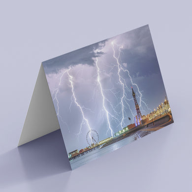 Pack of 6 stunning weather greetings cards
