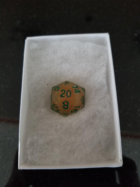 Review of the Blizzard Dice Liquid Core d20
