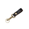 Leather Key Loop Black