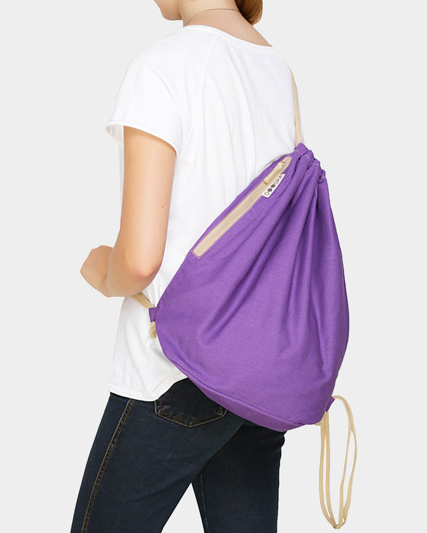 Versatile Drawstring Backpack