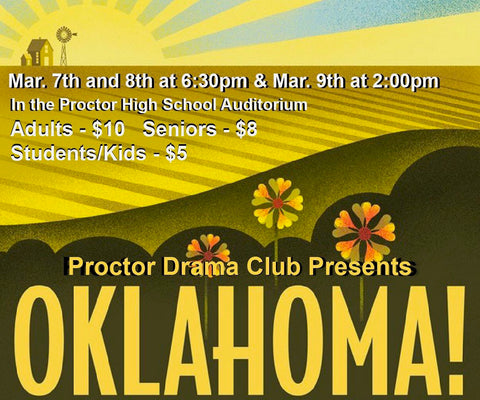 Lady and Leap Toy Shop supports Proctor Drama Club Oklahoma Musical