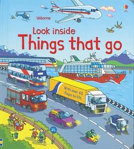 Usborne Look Inside Things That Go Book