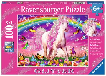 Ravensburger Horse Dream 100 pc glitter puzzle
