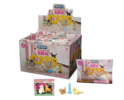 Breyer Reeves International Pocket Box Cats