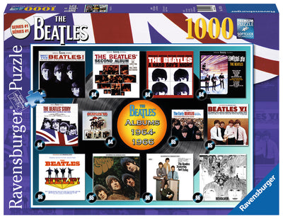 Beatles: Albums 1964-1966 1000 Piece Jigsaw Puzzle by Ravensburger