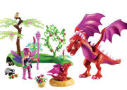 Friendly Dragon with Baby by Playmobil