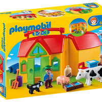 1.2.3 My Take Along Farm by Playmobil