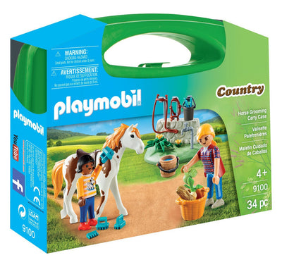 Horse Grooming with Carry Case by Playmobil