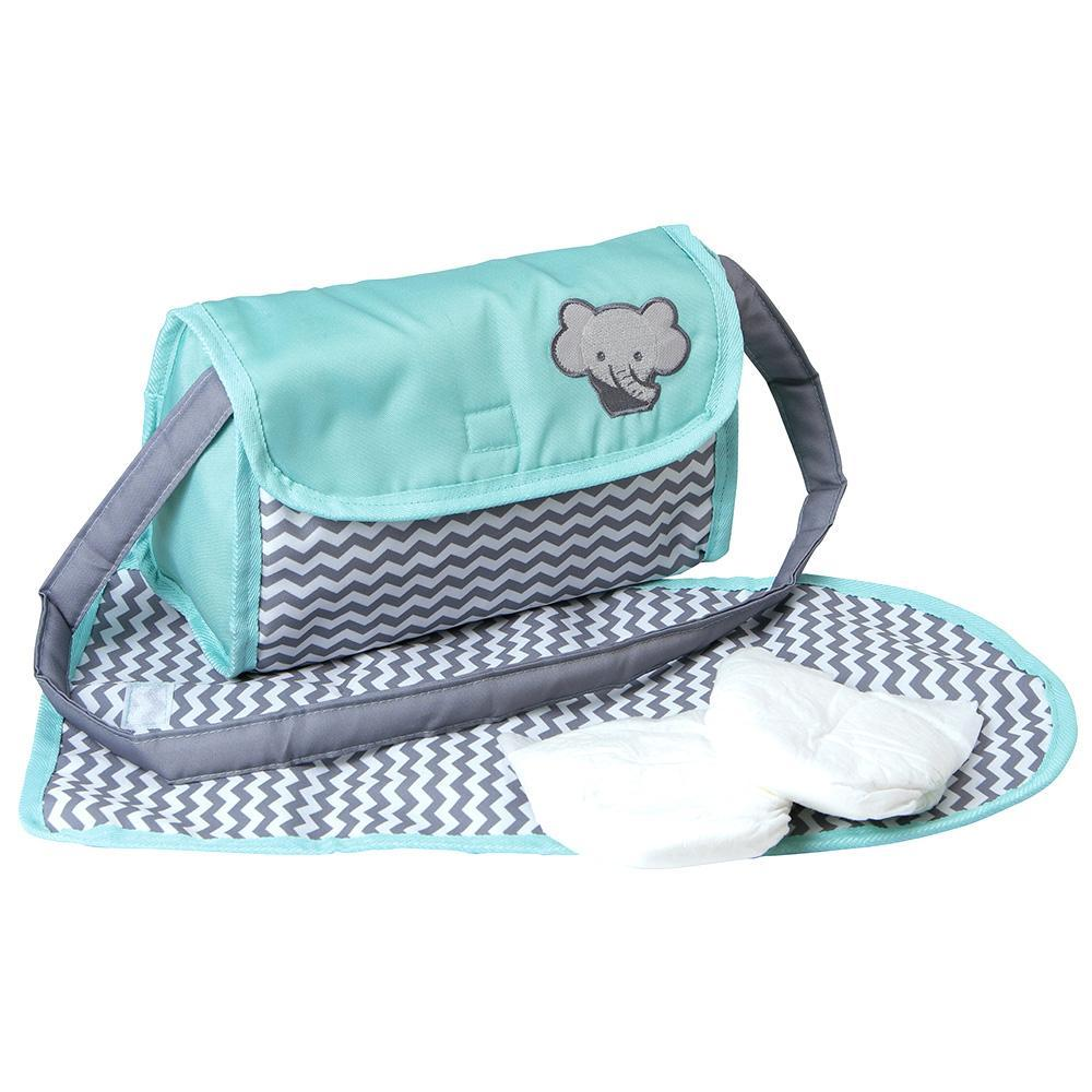Zig Zag Baby Diaper Bag by Adora