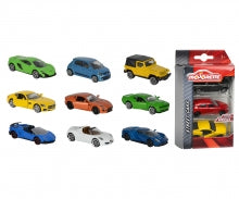 Kidsource - Majorette 3 piece street car set